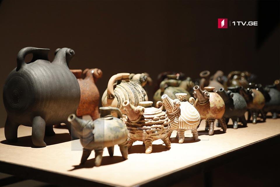 """სიმონ ჯანაშიას სახელობის მუზეუმში გამოფენა """"კერამიკის მუზეუმი"""" გაიხსნება [ფოტო]"""