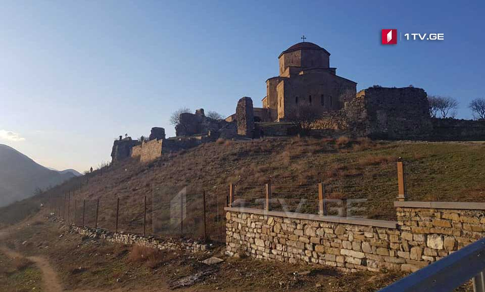 U.S. Embassy to Fund First Phase of Jvari Monastery's Conservation Works