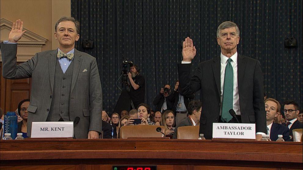 აშშ-ის კონგრესში დონალდ ტრამპის იმპიჩმენტის პროცედურის ფარგლებში პირველი საჯარო მოსმენები გაიმართა