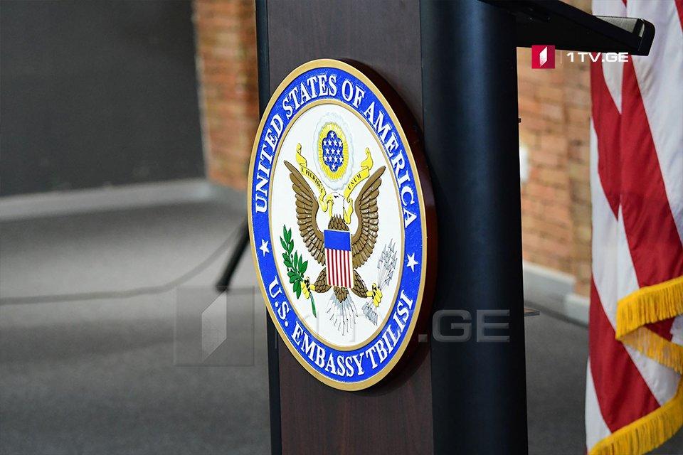 საქართველოში აშშ-ის საელჩო სენატის საგარეო ურთიერთობათა კომიტეტის აპარატის ხელმძღვანელის თბილისში გამართლ შეხვედრებზე ინფორმაციას ავრცელებს