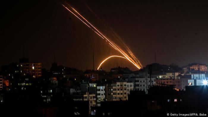 ისრაელის შეიარაღებულმა ძალებმა ღაზას სექტორში საპასუხო ავიადარტყმები განაახლეს