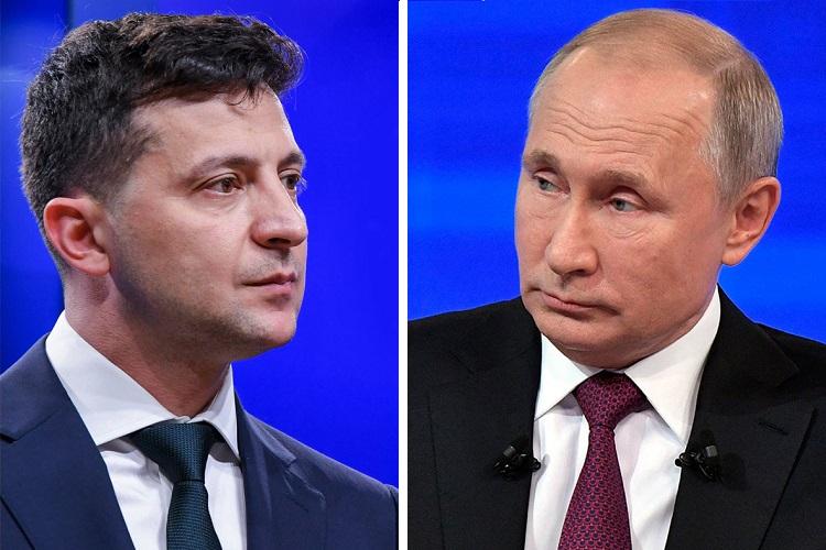 Путин и Зеленский встретятся 9 декабря в Париже