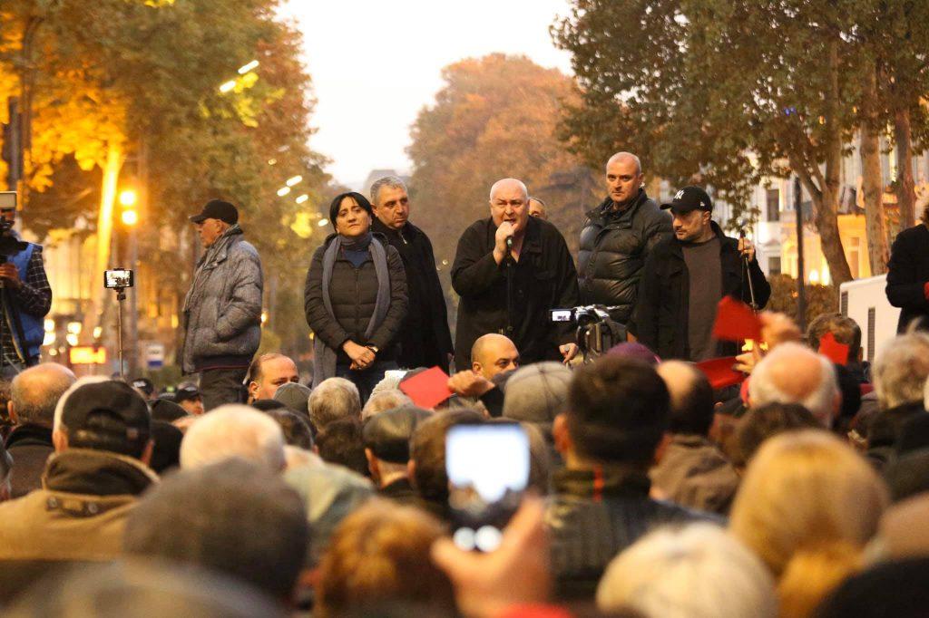 """დავით თარხან-მოურავი - არც """"ქართული ოცნება"""" და არც სააკაშვილ-ბოკერიები, ამ ქვეყანას ჩვენ უნდა დავეპატრონოთ"""
