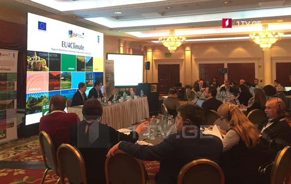 """კლიმატის ცვლილების საკითხზე თბილისში """"აღმოსავლეთ პარტნიორობის"""" რეგიონულ შეხვედრაზე იმსჯელეს"""
