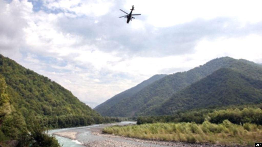 ოკუპირებულ აფხაზეთში ხანძარს რუსეთის საგანაგებო სიტუაციების სამსახური აქრობს