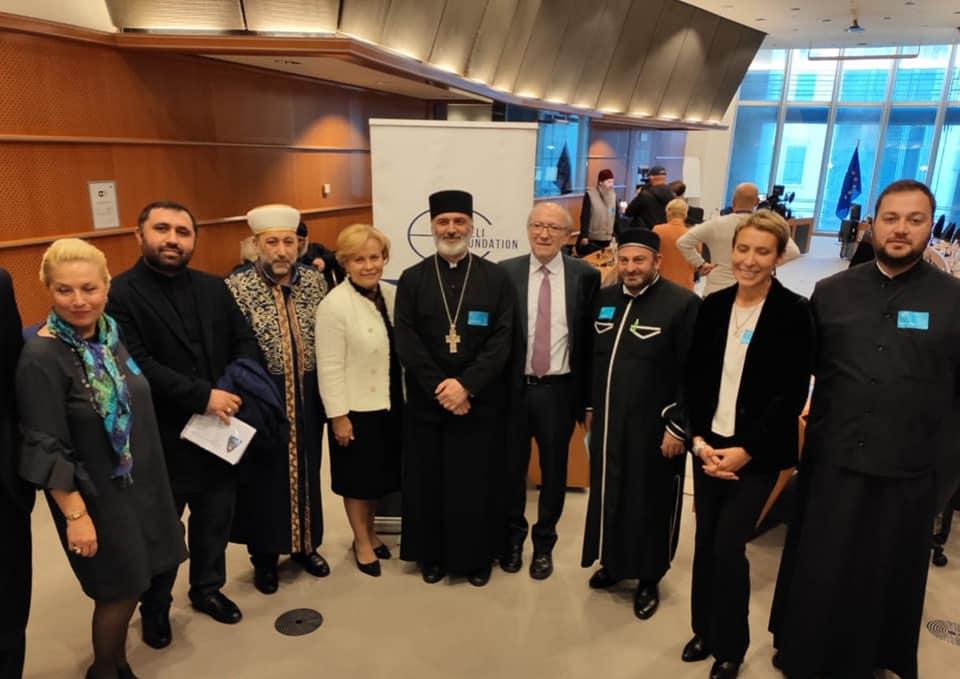 საქართველოს მართლმადიდებელი ეკლესიის დელეგაცია ბრიუსელში შეხვედრებს მართავს