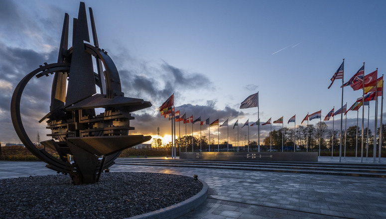 NATO foreign ministers will meet in Brussels today