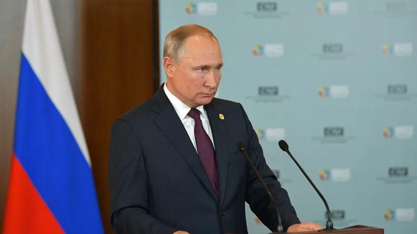 Vladimir Putin - Ukrayna prezidenti simpatiya yaradan insandır, fikirimcə o, həqiqətən durumun yaxşılığa doğru dəyişdirilməsini istəyir