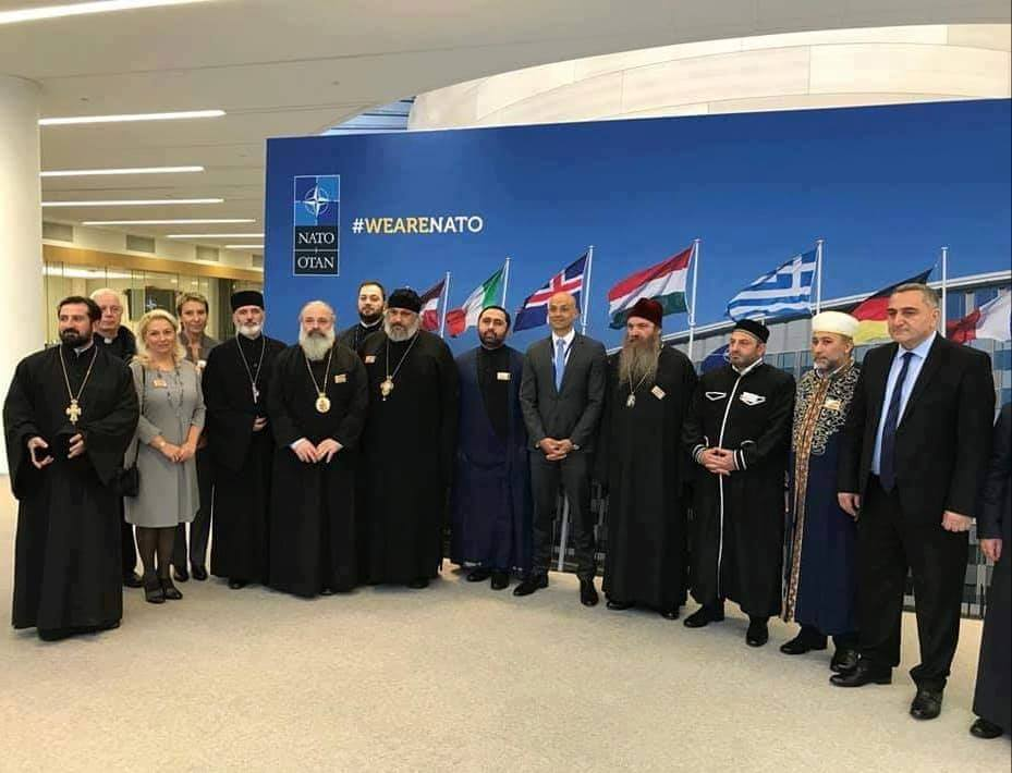 საქართველოს მართლმადიდებელი ეკლესიის დელეგაციამ ნატო-სადა ევროკავშირის ოფისებში შეხვედრები გამართა