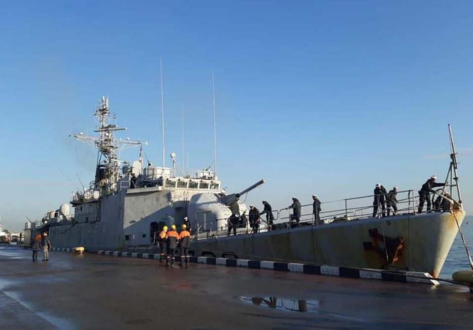 French military ship enters Batumi Port (Photo)