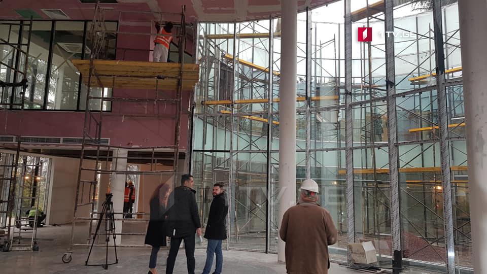 თეა წულუკიანმა ბოლნისში მშენებარე იუსტიციის სახლი დაათვალიერა