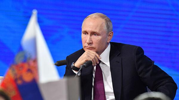 Владимир Путин опять говорит, что приближение инфраструктуры НАТО вызывает беспокойство России