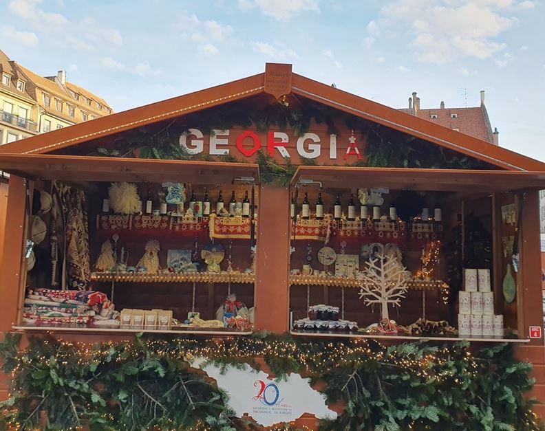 Georgia participates in Strasbourg Christmas Market