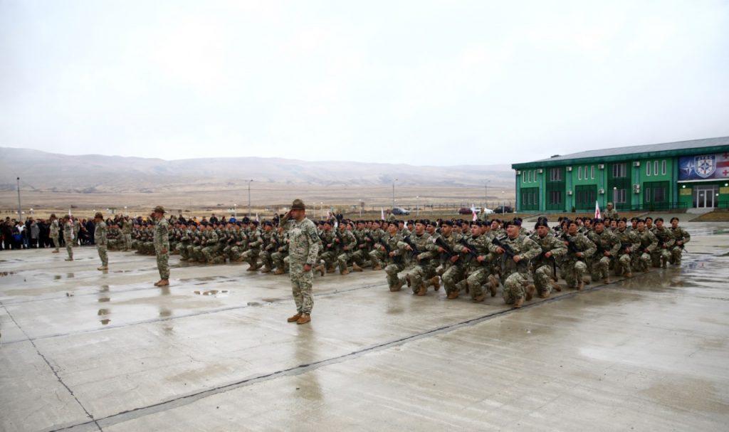 Грузинская армия пополнилась 225 военными