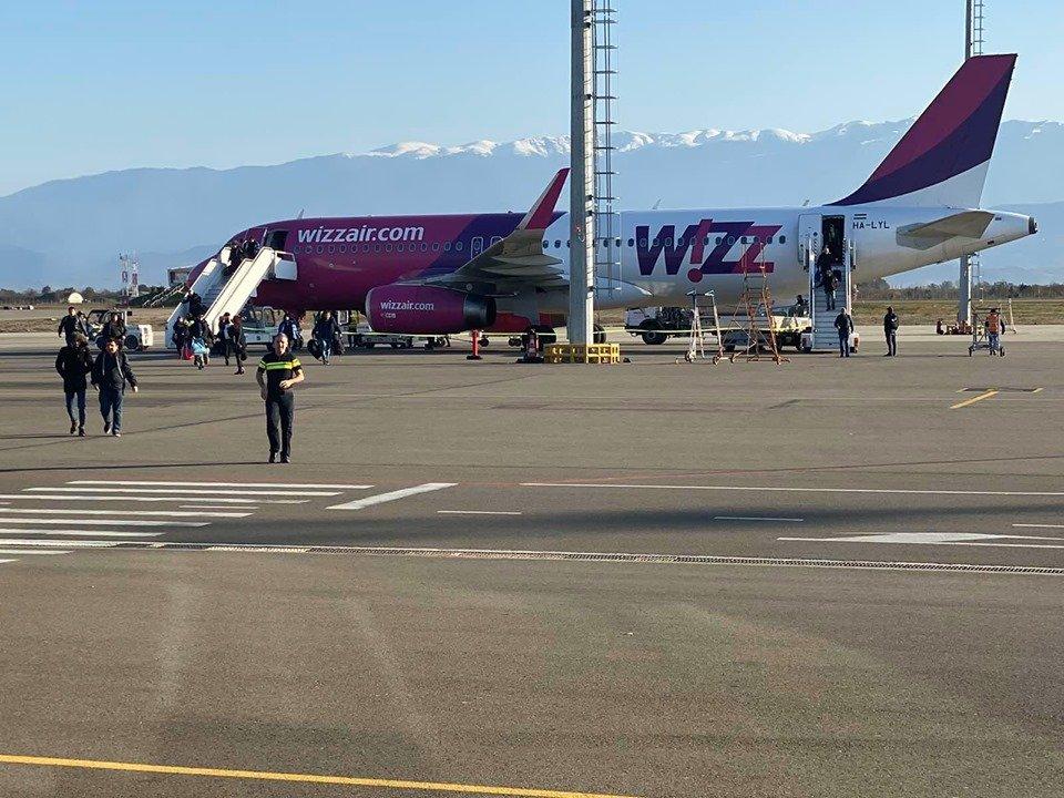 «Wizz Air»-ը Քութաիսիի օդանավակայանից սկսել է ուղիղ չվերթներ իրականացնել Բոլոնիայի ուղղությամբ