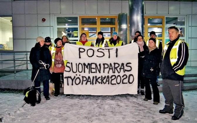ფინეთში ფოსტალიონებისადმი სოლიდარობის ნიშნადსაყოველთაო გაფიცვა გაიმართება