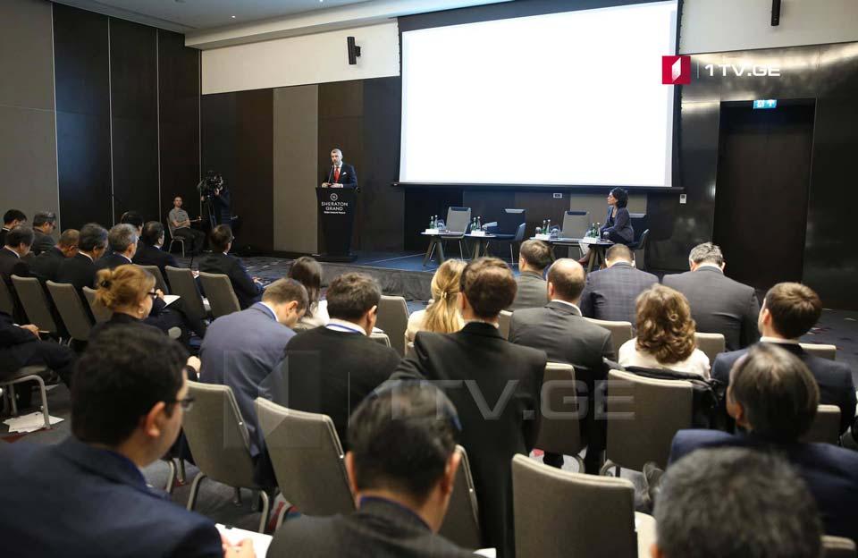 თბილისში საქართველო-იაპონიის ბიზნესფორუმი მიმდინარეობს