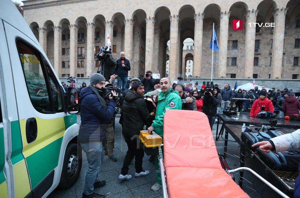 Health Ministry says four people hospitalized after November 26 rally dispersal