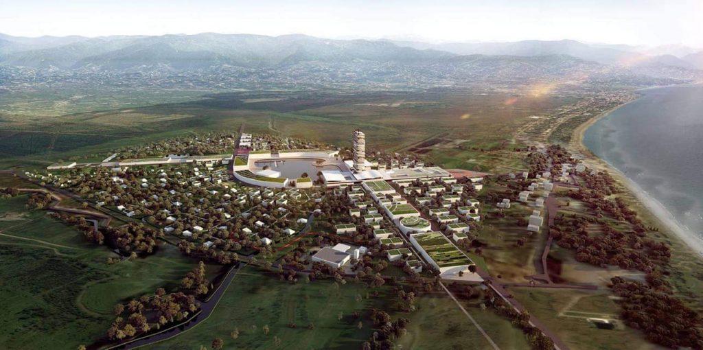 """ქობულეთში მულტიფუნქციური კომპლექსის, """"მწვანე ქალაქის"""" მშენებლობა იგეგმება"""
