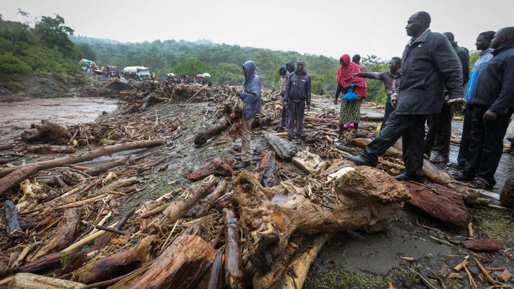 კენიაში მეწყერის შედეგად 56 ადამიანი დაიღუპა