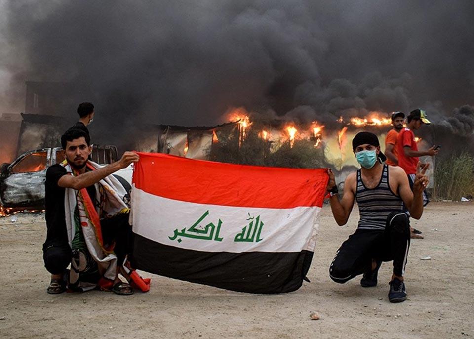 მედიის ინფორმაციით, ერაყში უსაფრთხოების ძალებმა 18 დემონსტრანტი მოკლეს