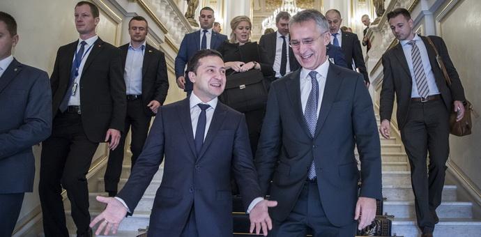 """""""ევროპეისკაია პრავდა"""" - უკრაინის გარეშე, მაგრამ საქართველოსთან: რატომ გადაწყვიტა კიევმა ნატო-ს ლიდერების შეხვედრის იგნორირება"""