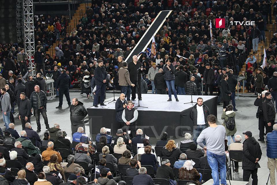 დავით თარხან-მოურავი - გადავხედოთ დარბაზს, აღარავინ თქვას, 1 500 კაციაო, 11 ათასი სკამი დგას და ვართ 11 ათასი კაცი