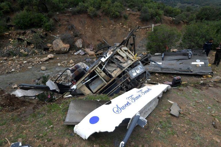 მაროკოში ავტოსაგზაო შემთხვევის შედეგად 17 ადამიანი დაიღუპა