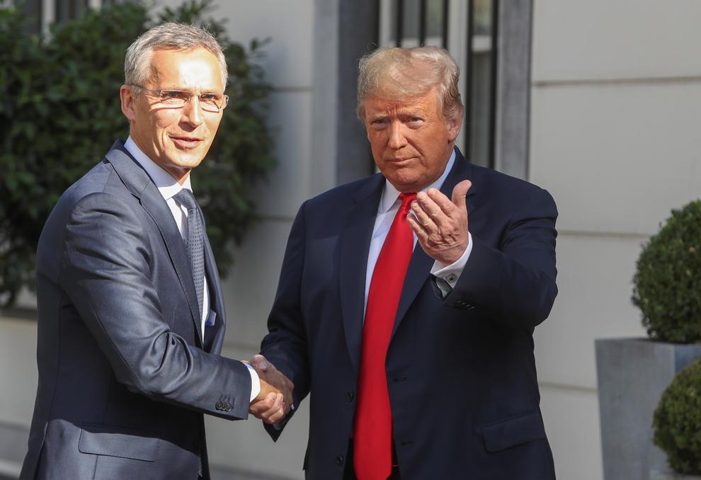 Amerika prezidenti Londonda NATO-nun baş katibi ilə görüşəcək