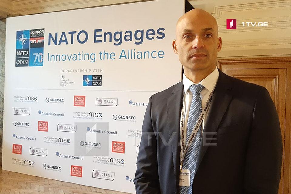 Джеймс Аппатурай - Грузия солидно стоит на повестке дня НАТО