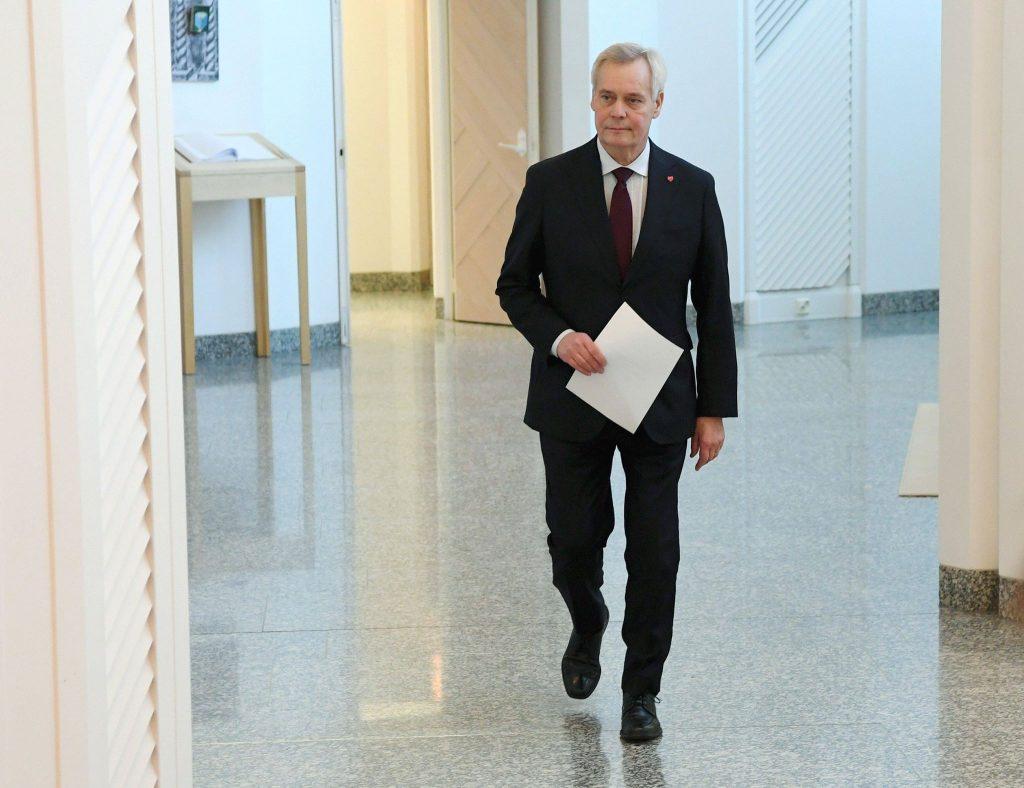 ფინეთის პრემიერ-მინისტრმა თანამდებობადატოვა