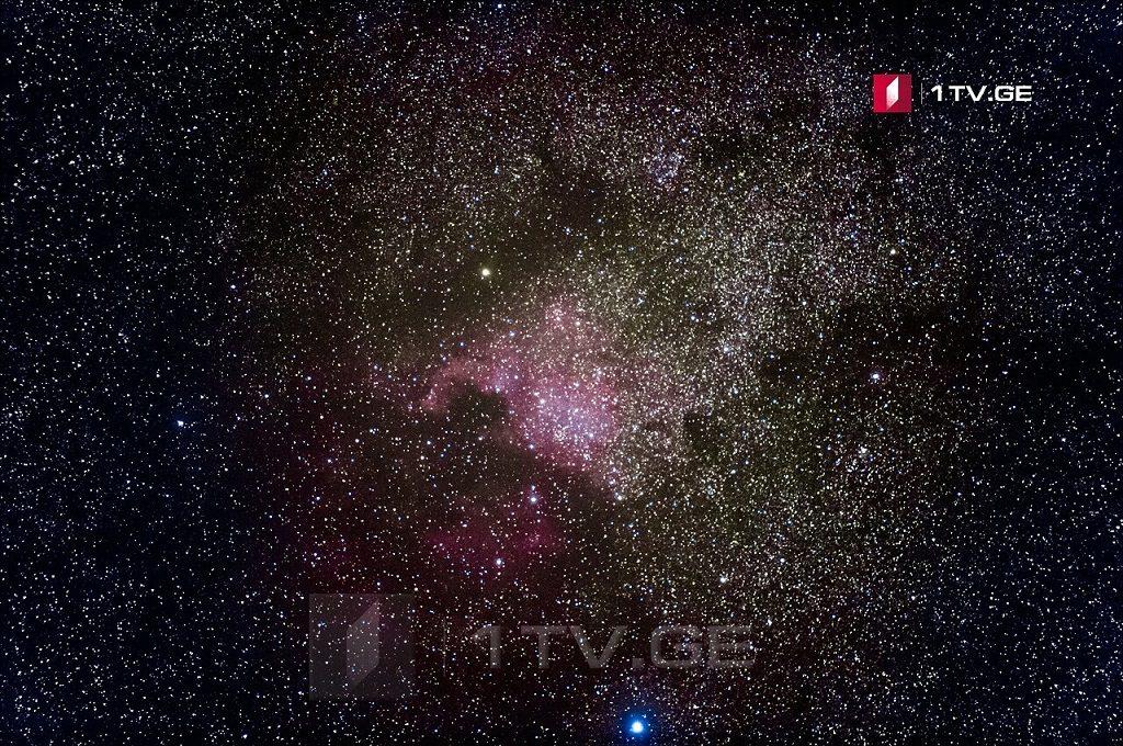 ჩრდილოეთ ამერიკის ნისლეული ირაკლი გედენიძის ასტროობიექტივში