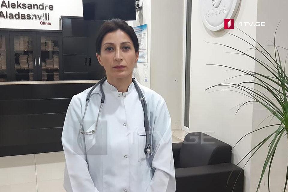 ექიმის ინფორმაციით, ბენზინგასამართ სადგურზე ხანძრის შედეგად დაშავებულ ქალს თავის ტვინის შერყევა აქვს