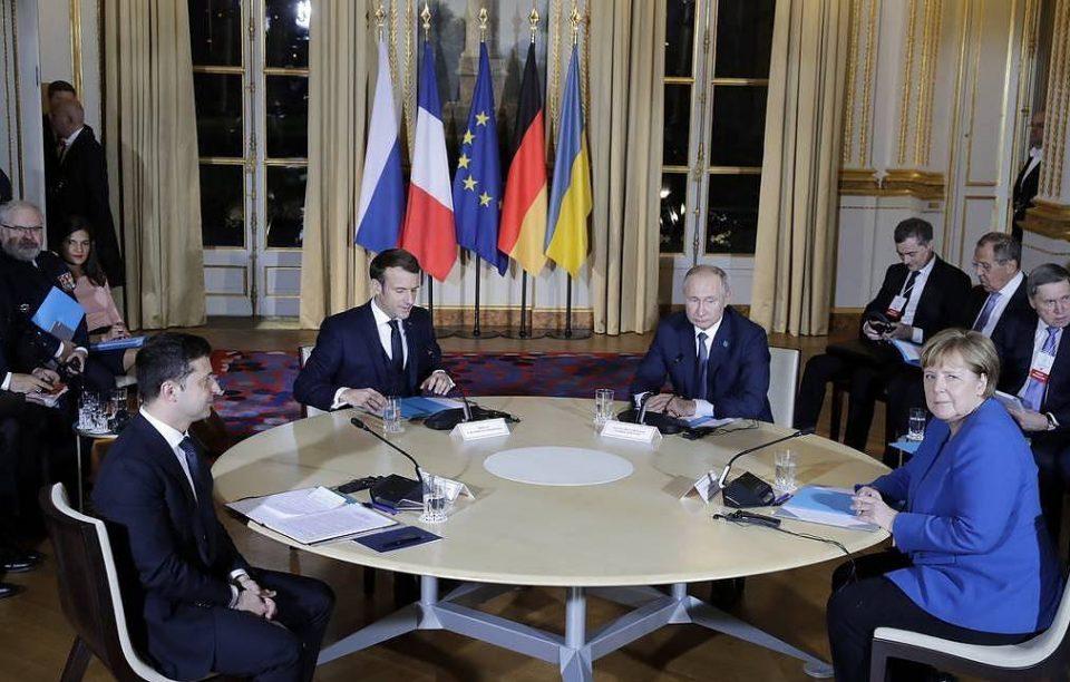 ნორმანდიულ სამიტზე ლიდერები სამ საკითხზე, მათ შორის აღმოსავლეთ უკრაინაში წლის ბოლომდე ცეცხლის სრულ შეწყვეტაზე შეთანხმდნენ