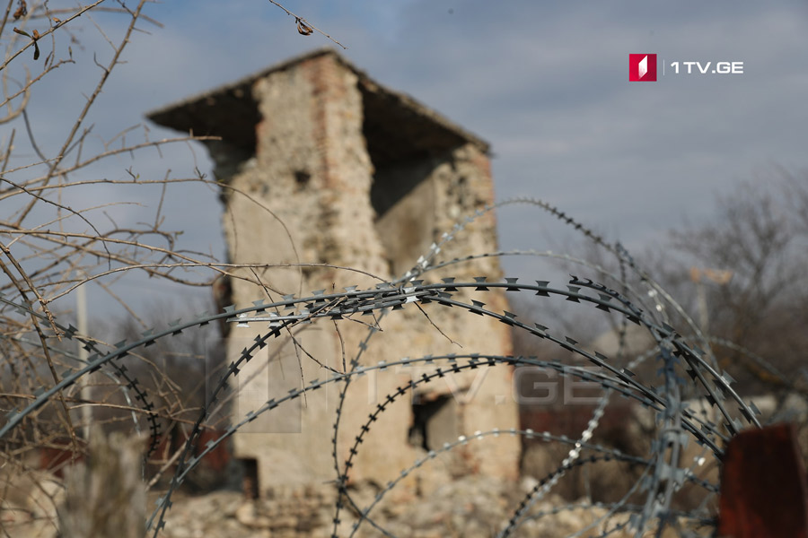 Three Georgian citizens detained at Akhmaji village by occupational forces