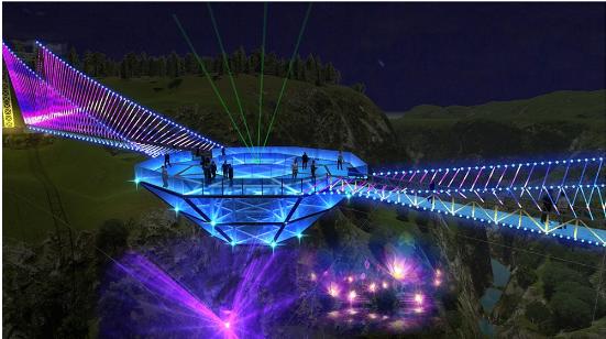 На каньоне Дашбаши планируется построить уникальный стеклянный мост