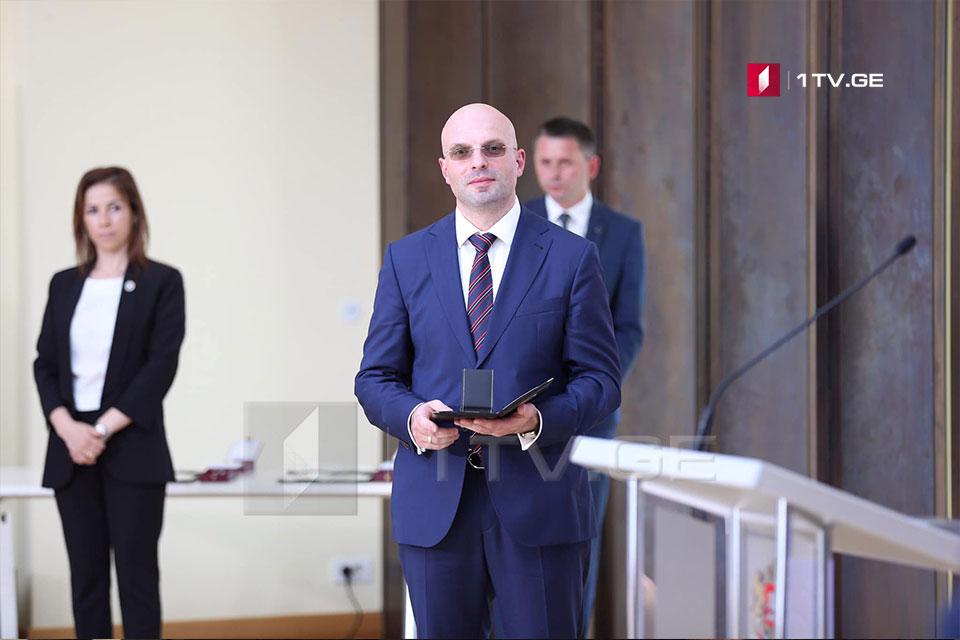 После избрания Шалвы Тадумадзе судьей Верховного суда, должность Генерального прокурора остается вакантной