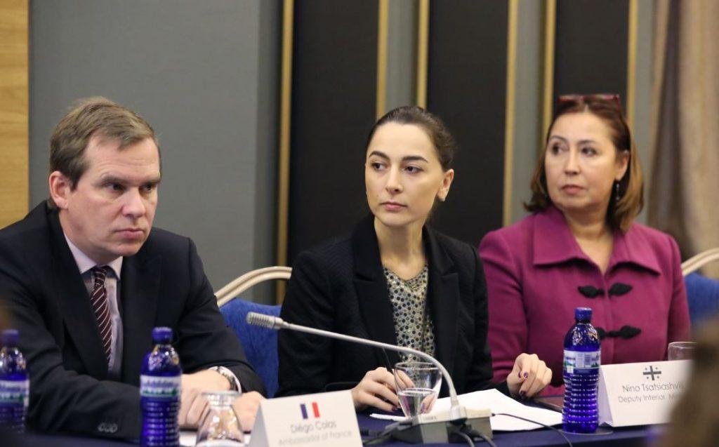 შს მინისტრის მოადგილე ევროკავშირთან უვიზო მიმოსვლის საკითხებზე საერთაშორისო კონფერენციის დახურვას დაესწრო