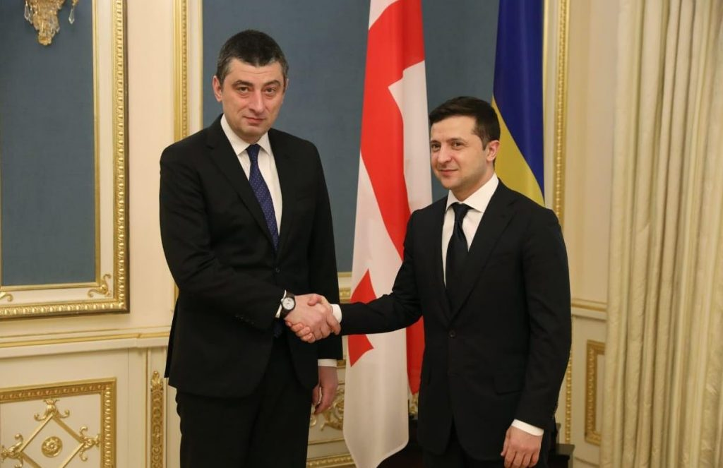 Georgian PM and Ukrainian President sign agreement on establishment of Strategic Council