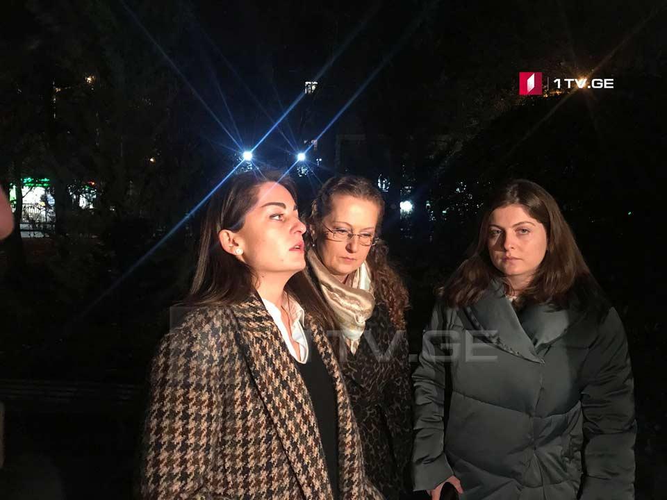 СемьяВажиГаприндашвили требует создания Координационного совета и встречи с премьер-министром