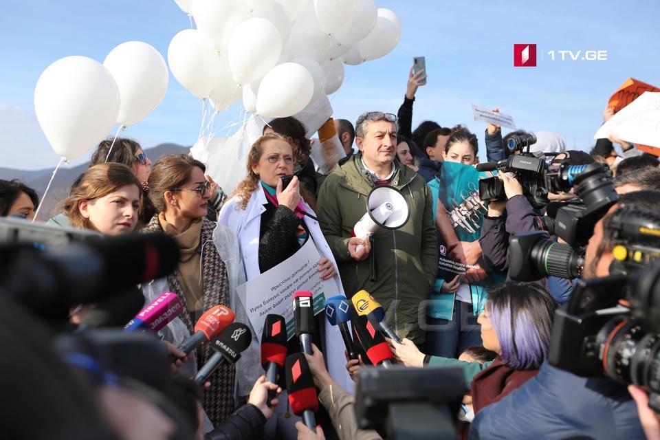Супруга Важи Гаприндашвили  обратилась к осетинскому народу