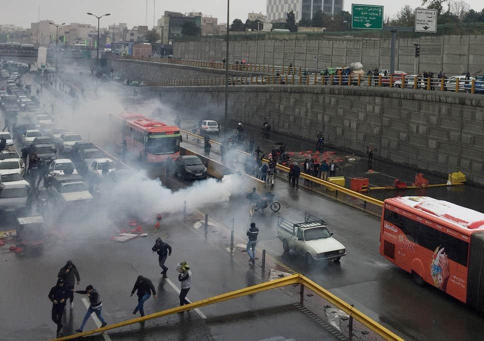 Amnesty International - 304 человека погибли в результате массовых акций протеста в Иране с 15 по 18 ноября