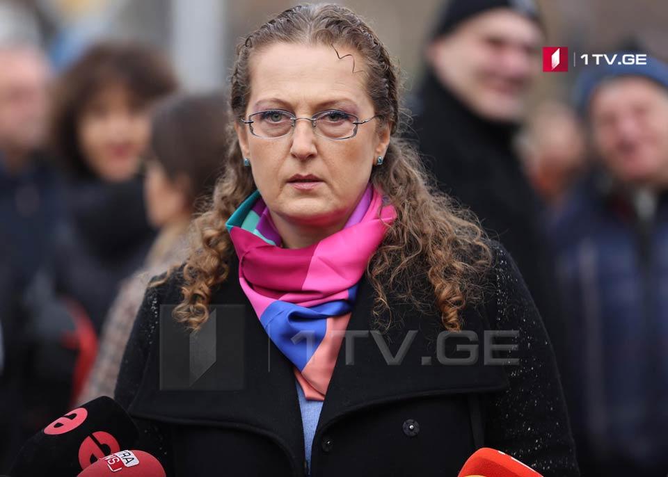 Супруга Важи Гаприндашвили - Еду в Гори, позже я и Важа расскажем о произошедшем