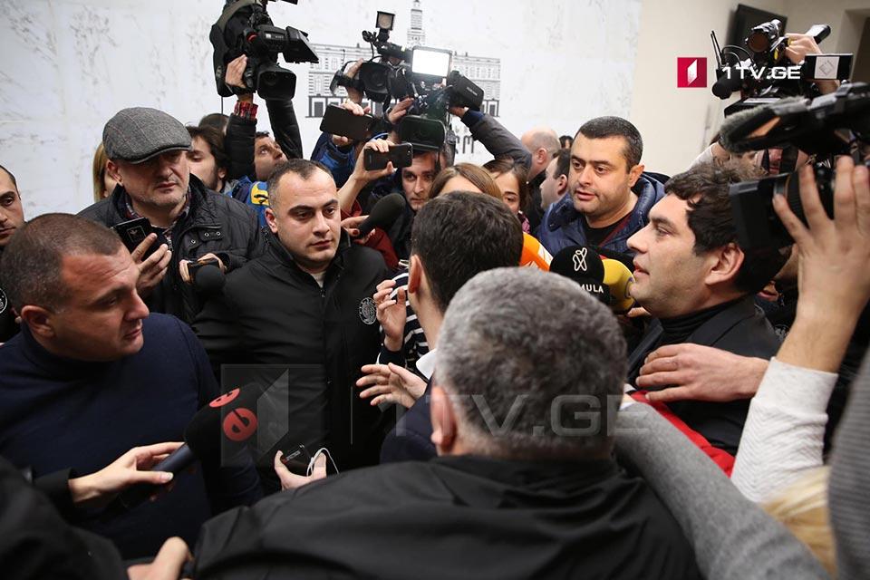 В сакребуло Тбилиси произошла словесная перепалка