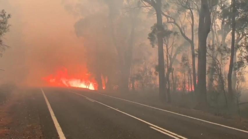 ავსტრალიაში ტყის ხანძრის შედეგად ორი მეხანძრე დაიღუპა, სამი კი დაშავდა