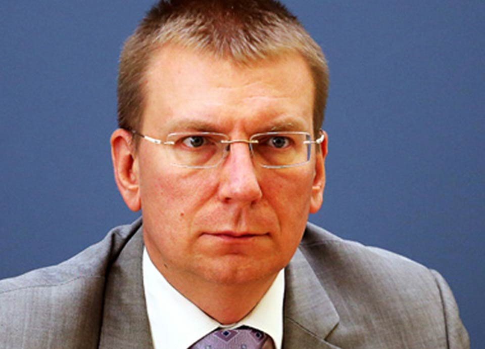Latvian Foreign Minister calls on de facto Tskhinvali torelease Georgian doctor