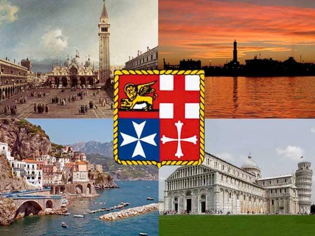 რადიო ექსპრესი - ვენეცია, პიზა, გენუა - იტალიური საზღვაო რესპუბლიკები