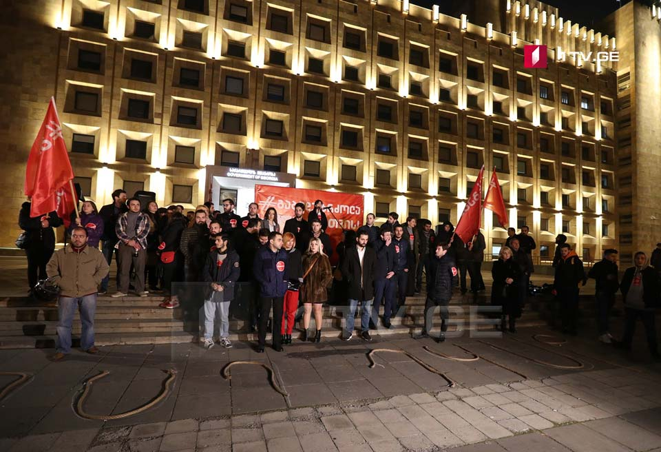 """Dare"" movement holding protest at Governmental Administration (Photo)"