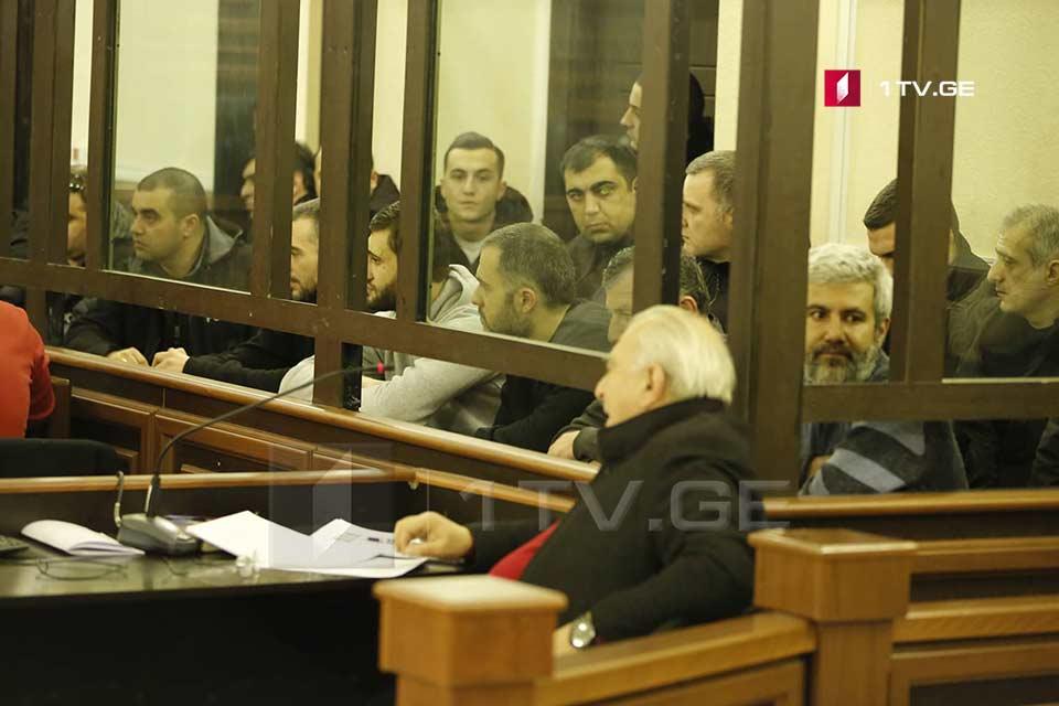 Ցոտնե Գամսախուրդիայի գործով մեղադրյալ չորս անձի սահմանվել է բանտարկություն, իսկ Թոռնիկե Քվաթաձեն ազատվել է դատարանի դահլիճից
