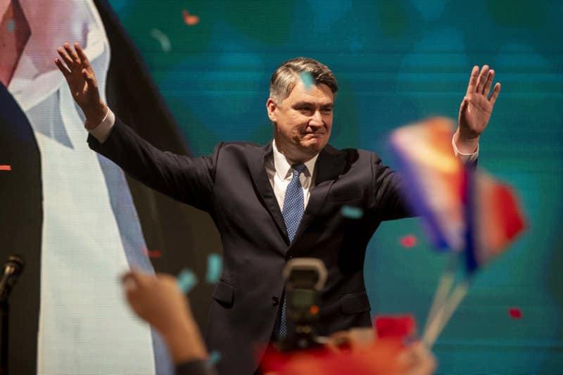 ხორვატიაში საპრეზიდენტო არჩევნების მეორე ტური ყოფილპრემიერსა და მოქმედ პრეზიდენტს შორის გაიმართება